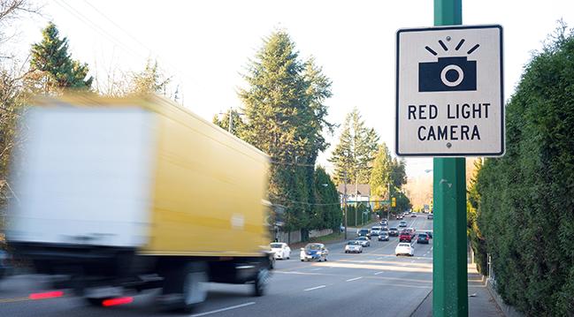 Red Light Violations Capture