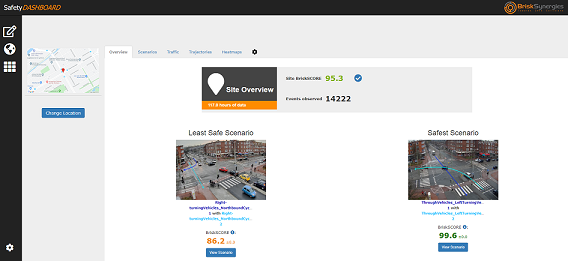 Dashboard Overview Home Page